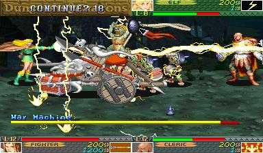 Dungeons & Dragons: Shadow Over Mystara (ARC)  © Capcom 1996   20/23