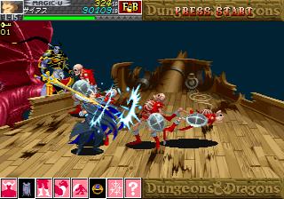 Dungeons & Dragons: Shadow Over Mystara (ARC)  © Capcom 1996   23/23
