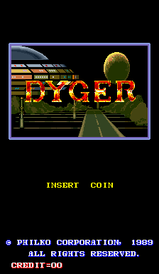 Dyger (ARC)   © Philko 1989    1/3