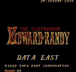 Edward Randy (ARC)  © Data East 1990   1/8