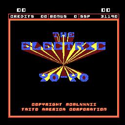 The Electric Yo-Yo (ARC)  © Taito 1982   1/3