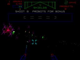 Star Wars: The Empire Strikes Back (1985) (ARC)  © Atari Games 1985   3/4