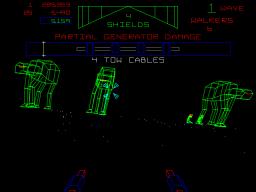Star Wars: The Empire Strikes Back (1985) (ARC)  © Atari Games 1985   2/4