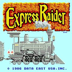 Express Raider (ARC)  © Data East 1985   1/4