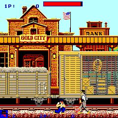 Express Raider (ARC)  © Data East 1985   3/4
