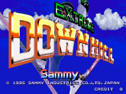 Extreme Downhill (ARC)  © Sammy 1995   1/3