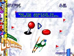 Extreme Downhill (ARC)  © Sammy 1995   3/3