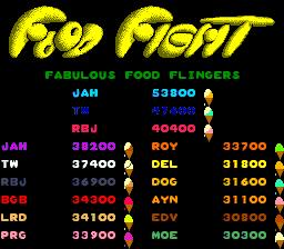 Food Fight (ARC)  © Atari (1972) 1983   1/4