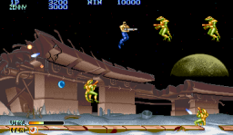 Forgotten Worlds (ARC)  © Capcom 1988   2/5