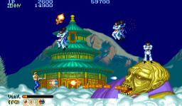 Forgotten Worlds (ARC)  © Capcom 1988   3/5