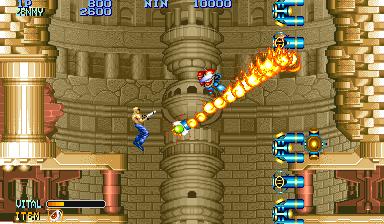 Forgotten Worlds (ARC)  © Capcom 1988   5/5