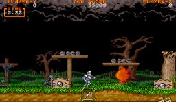 Ghouls 'N Ghosts (ARC)  © Capcom 1988   2/4