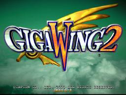 Giga Wing 2 (ARC)  © Capcom 2000   1/3