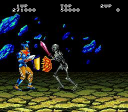 Gladiator (ARC)  © Taito 1986   5/5