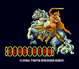Gladiator (ARC)  © Taito 1986   1/5