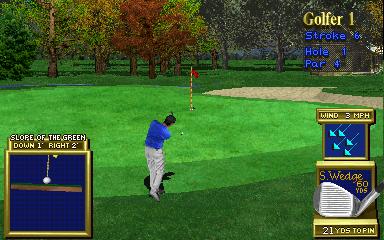 Golden Tee 3D Golf (ARC)  © Incredible Technologies 1995   4/5