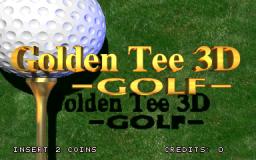 Golden Tee 3D Golf (ARC)  © Incredible Technologies 1995   1/5
