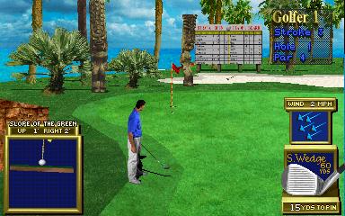 Golden Tee 3D Golf (ARC)  © Incredible Technologies 1995   5/5
