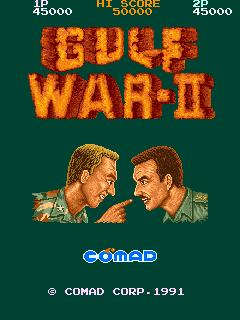 Gulf War II (ARC)  © Comad 1991   1/4