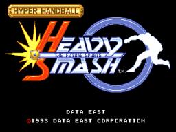 Heavy Smash (ARC)  © Data East 1993   1/5