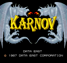 Karnov (ARC)  © Data East 1987   1/5