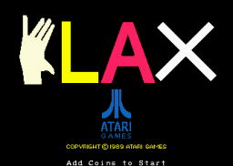 Klax   © Atari Games 1989   (ARC)    1/5