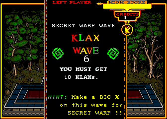 Klax (ARC)   © Atari Games 1989    5/5