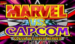 Marvel Vs. Capcom: Clash Of Super Heroes  © Capcom 1999  (ARC)   1/55