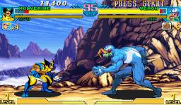 Marvel Vs. Capcom: Clash Of Super Heroes  © Capcom 1999  (ARC)   2/55