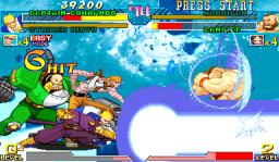 Marvel Vs. Capcom: Clash Of Super Heroes  © Capcom 1999  (ARC)   3/55
