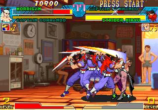 Marvel Vs. Capcom: Clash Of Super Heroes  © Capcom 1999  (ARC)   7/55