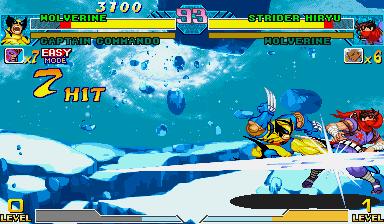 Marvel Vs. Capcom: Clash Of Super Heroes  © Capcom 1999  (ARC)   39/55