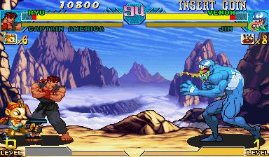 Marvel Vs. Capcom: Clash Of Super Heroes  © Capcom 1999  (ARC)   40/55