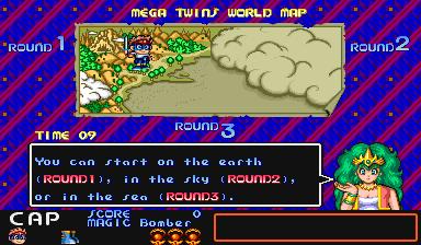 Mega Twins (ARC)  © Capcom 1990   5/5