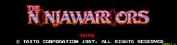 Ninja Warriors (ARC)  © Taito 1988   1/5