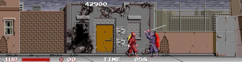 Ninja Warriors (ARC)  © Taito 1988   5/5