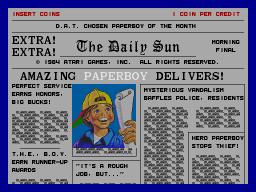 Paperboy  © Atari Games 1984  (ARC)   1/5