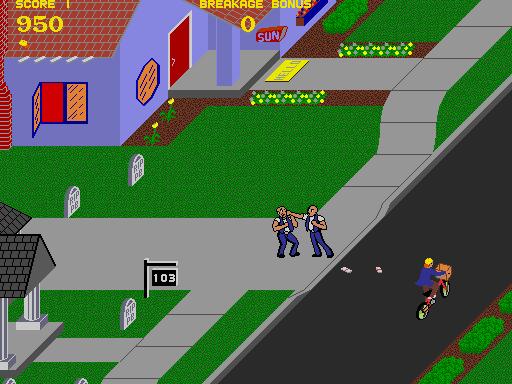 Paperboy  © Atari Games 1984  (ARC)   2/5