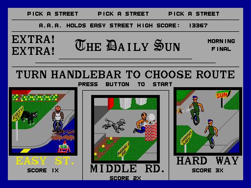 Paperboy  © Atari Games 1984  (ARC)   5/5