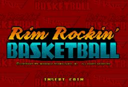 Rim Rockin' Basketball (ARC)  © Strata 1991   1/3