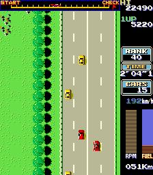 Road Fighter (ARC)  © Konami 1984   2/3