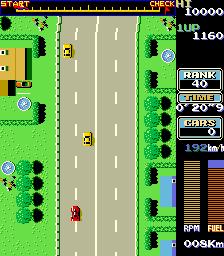 Road Fighter (ARC)  © Konami 1984   3/3