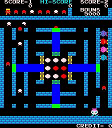 Round-Up (ARC)  © Centuri 1981   3/3