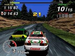 Sega Rally Championship (ARC)  © Sega 1995   2/5