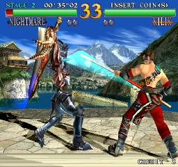 Soul Calibur (ARC)  © Namco 1998   2/3