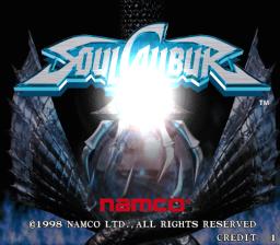 Soul Calibur (ARC)  © Namco 1998   1/3
