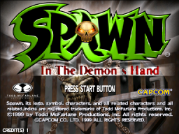 Spawn: In The Demon's Hand   © Capcom 2000   (ARC)    1/4