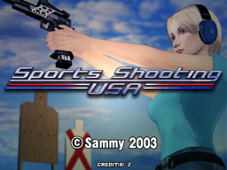 Sports Shooting USA (ARC)   © Sammy 2003    1/4