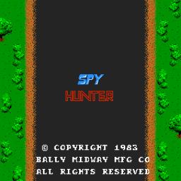 Spy Hunter (ARC)  © Bally Midway 1983   1/3