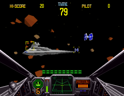 Star Wars Arcade (ARC)   © Sega 1993    2/3